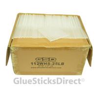 "Wholesale® Hot Melt Glue Stick Mini X 4"" 25 lbs Bulk"