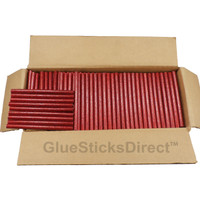 "Red Glitter Colored Glue Stick mini X 4"" 5 lbs"