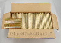 "Gold Glitter Colored Glue Stick mini X 4"" 5 lbs"