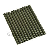 """Black Faux Wax Colored Glue Sticks mini X 4"""" 12 sticks"""