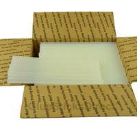 "Wholesale® Cool Melt Glue Sticks  7/16"" X 10"" -12.5 lbs Bulk  225 Sticks"