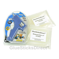 "Hot Melt Mini  5/16"" X 4"" 50PK Glue Sticks & GSDGM-160 10W Glue Gun"