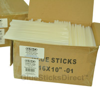 "Twin Pack Economy™ Hot Melt Glue Sticks 7/16"" X 10"" 50 lbs Bulk"