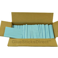 "Baby Blue Colored Glue Stick mini X 4"" 5 lbs"