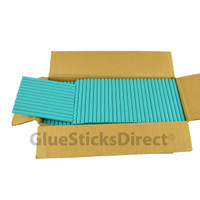 "Teal Colored Glue Stick mini X 4"" 5 lbs"