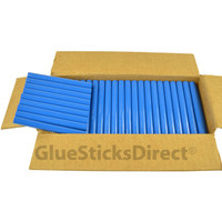 "Royal Blue Colored Glue Sticks 7/16"" X 4"" 5 lbs"