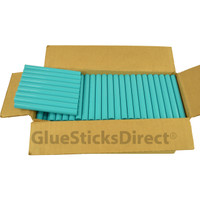 "Teal Colored Glue Sticks 7/16"" X 4"" 5 lbs"