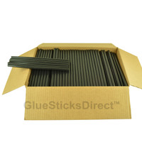 "Wholesale™ Flat Black Sticks 7/16"" X 10"" 25 lbs"