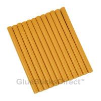 "Golden Rod Colored Glue Sticks mini X 4"" 12 sticks"