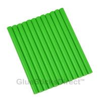 """Mint Green Colored Glue Sticks mini X 4"""" 12 sticks"""