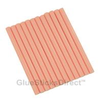 """Pastel Red Colored Glue Sticks mini X 4"""" 12 sticks"""