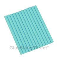 """Pastel Blue Colored Glue Sticks mini X 4"""" 12 sticks"""