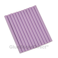 "Pastel Violet Colored Glue Sticks mini X 4"" 12 sticks"