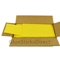 "Neon Yellow  Colored Glue Stick mini X 4"" 5 lbs"