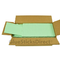 "Pastel Green  Colored Glue Stick mini X 4"" 5 lbs"