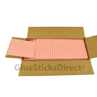 "Pastel Red  Colored Glue Stick mini X 4"" 5 lbs"