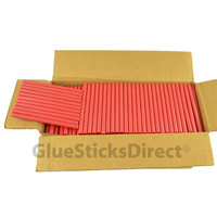 "Red Metallic  Colored Glue Stick mini X 4"" 5 lbs"