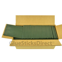 "Army Green  Colored Glue Stick mini X 4"" 5 lbs"