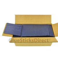 "Blue Metallic  Colored Glue Stick mini X 4"" 5 lbs"