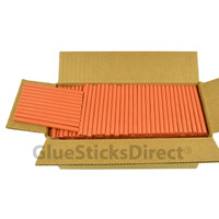 "Burnt Orange  Colored Glue Stick mini X 4"" 5 lbs"
