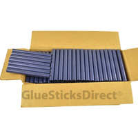 "Blue Metallic Colored Glue Sticks 7/16"" X 4"" 5 lbs"