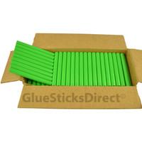 """Mint Green Colored Glue Sticks 7/16"""" X 4"""" 5 lbs"""