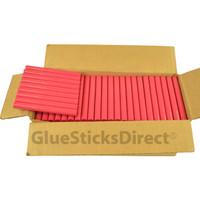 """Rubine Red Colored Glue Sticks 7/16"""" X 4"""" 5 lbs"""