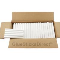 "White Colored Glue Sticks 7/16"" X 4"" 5 lbs"