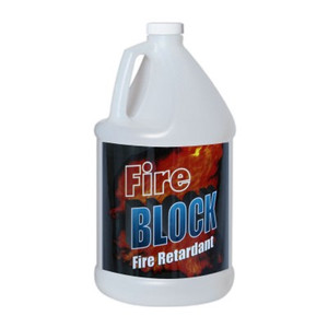 Fire Block - Fire Retardant Spray for Fabric - 1 Gallon