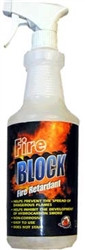 32oz Fire Block Fire Retardant Spray