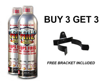 COLD FIRE 13.5 OZ SPRAY CAN - BUY 3 GET 3 - BRACKET & SHIPPING INCLUDED