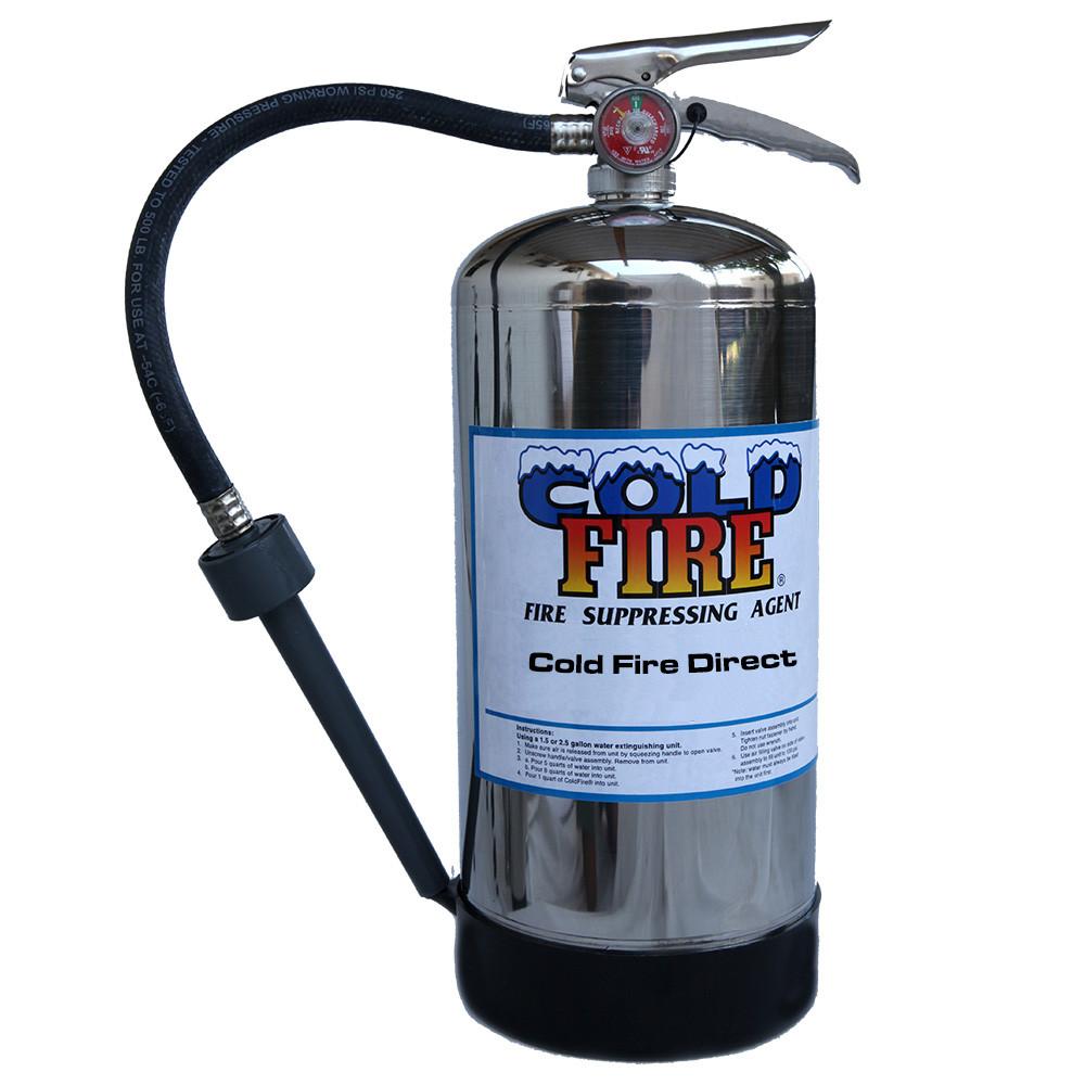 Cold Fire Extinguisher 1.5 gl Cold Fire Extinguisher