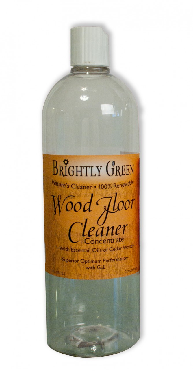 Brightly Green Wood Floor Cleaner Concentrate 32oz