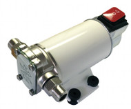 12 Volt 2GPM gear pump for motor oil or diesel fuel