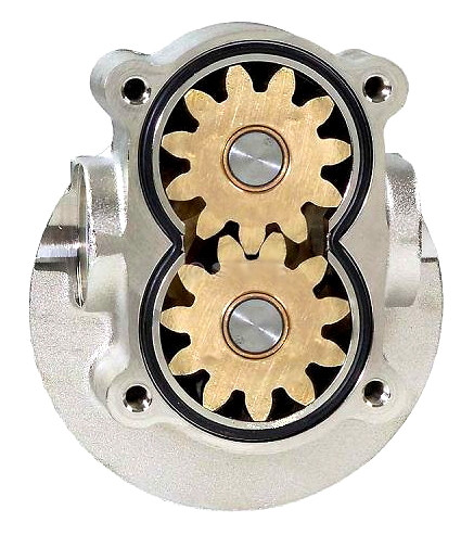 Gear pump head 12 Volt for oil or diesel fuel