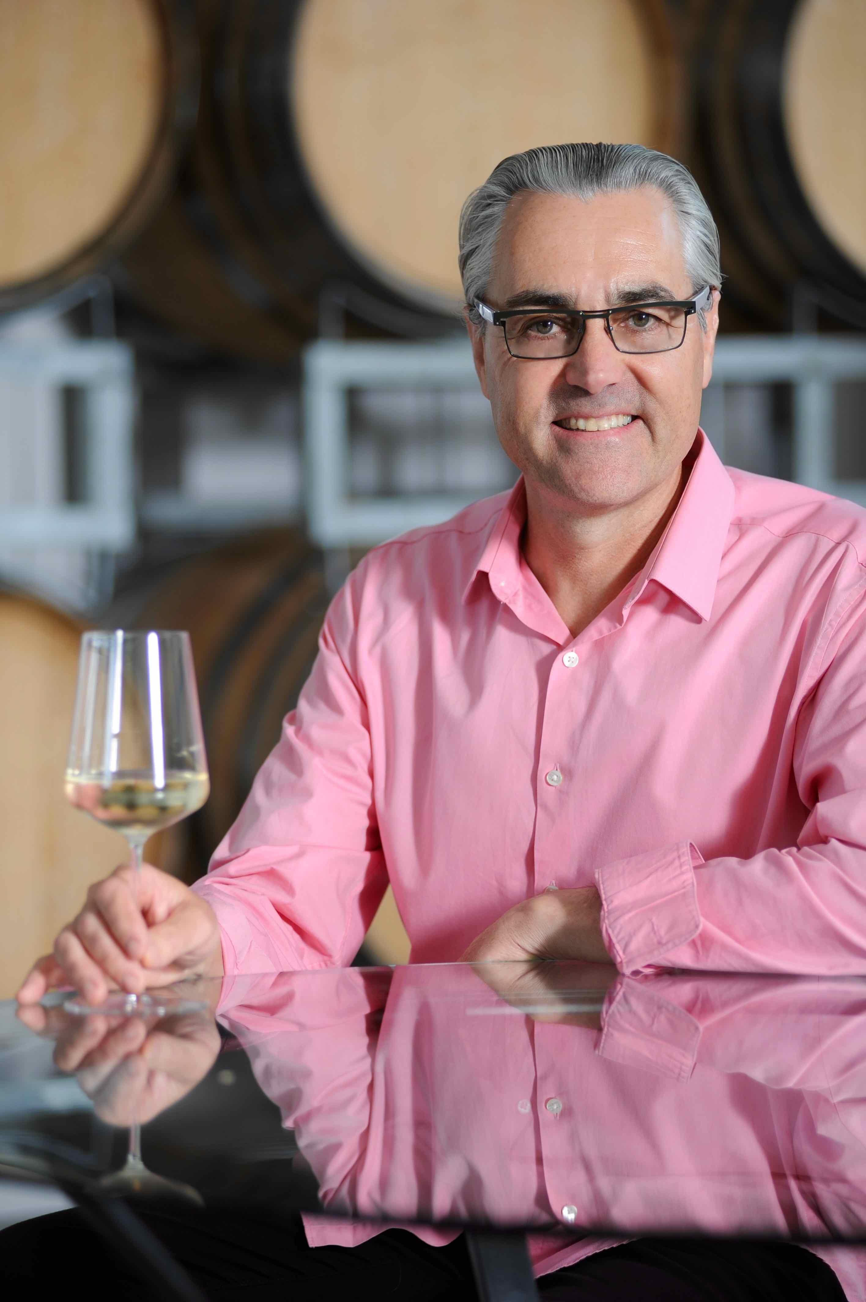 Winemaker John Belsham