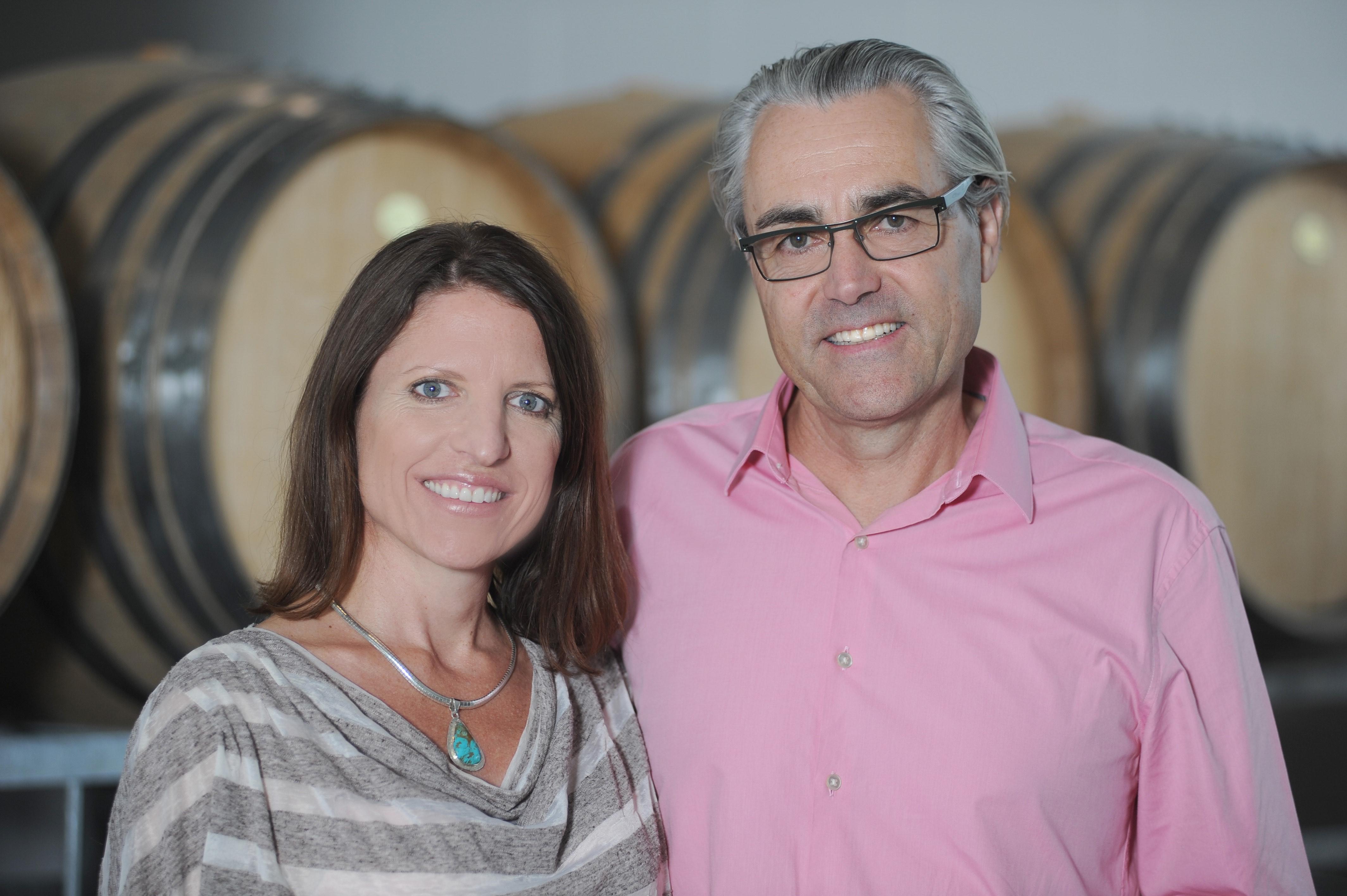 John Belsham & Kelly Brown, Foxes Island Wines