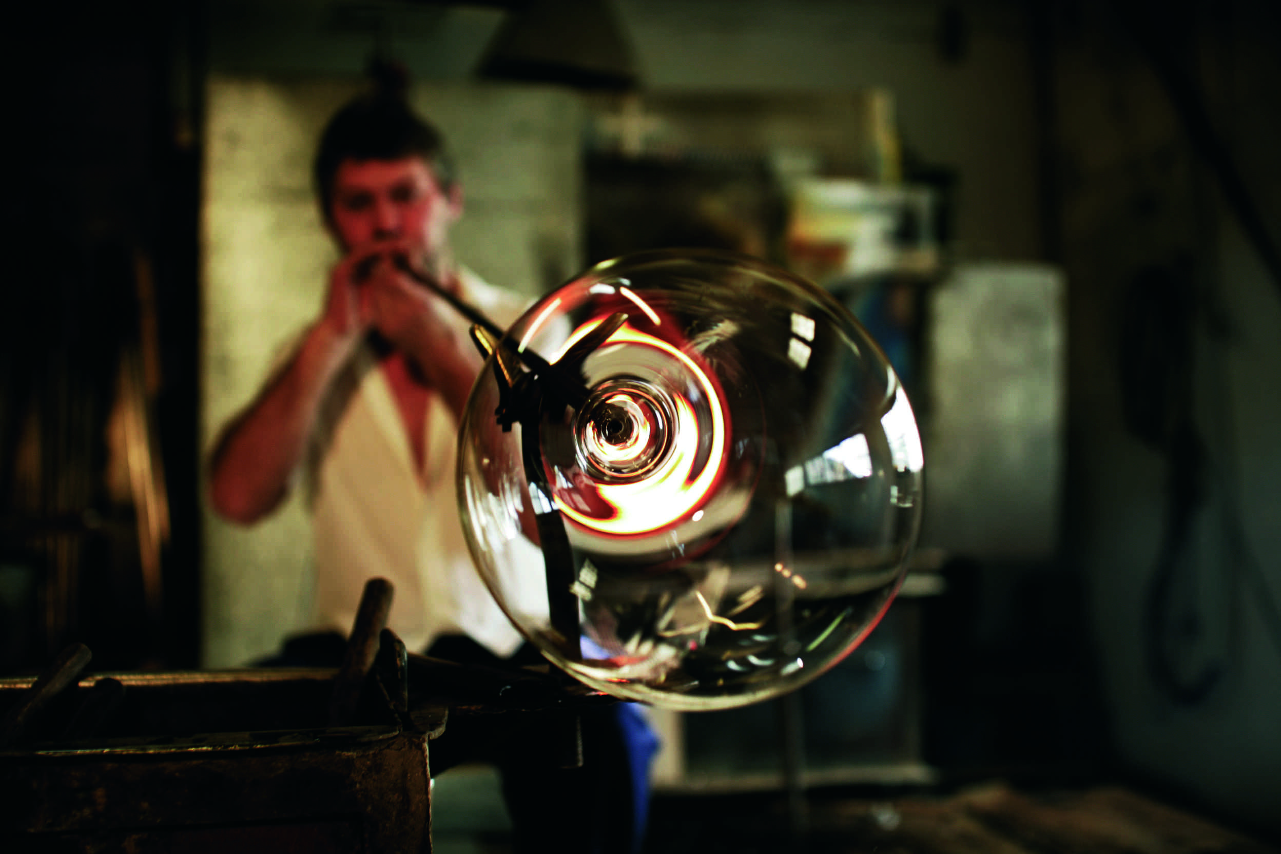 Zalto Austrian Crystal Glassblowing Free Form
