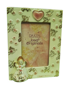 Celebrate the new member of the family with the unique Josef Doll Photo Frame...perfect for sharing with Grandma, Auntie, Godmother, Sister...to mark the very special day....