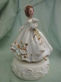 The Wedding March music box...