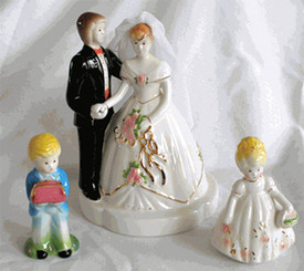 Josef Dolls Wedding Set