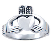 Claddagh Ring - Irish Pure Heart for Ladies