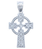 925 Sterling Silver Irish Cross Pendant
