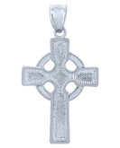 925 Sterling Silver Cross Celtic Pendant