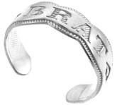 "925 Sterling Silver ""BRAT"" Toe Ring"