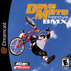 *USED* DAVE MIRRA FREESTYLE BMX