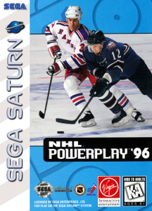 *USED* NHL Powerplay 96