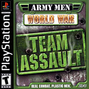 *USED* ARMY MEN WORLD WAR TEAM ASSAULT [T]