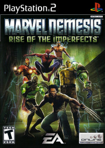 *USED* MARVEL NEMESIS RISE OF THE IMPERFECTS