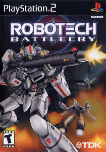 *USED* ROBOTECH BATTLECRY [T]
